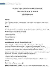 Referat af bestyrelsesmøde den 4. februar 2011