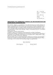 Orienteringsskrivelse af 18. maj 2000 - Budget- og ...