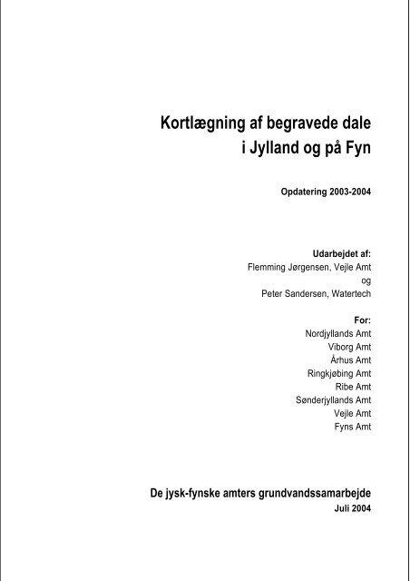 Kortlaegning Af Begravede Dale I Jylland Og Pa Fyn