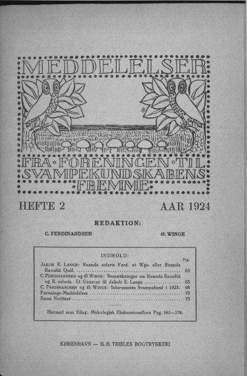 HEFTE 2 AAR 1924