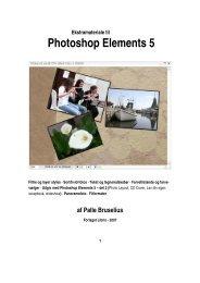 Appendiks til Photoshop Elements 5 - Forlaget Libris