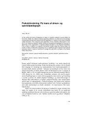 Praksisforskning: På tværs af almen- og specialpædagogik - MUEP