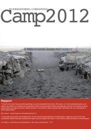 Rapport fra Camp 2012 - Region Midtjylland
