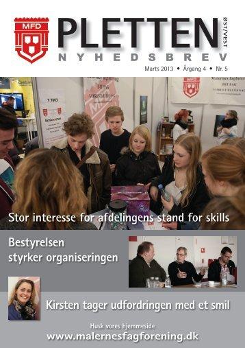 Stor interesse for afdelingens stand for skills Bestyrelsen styrker ...