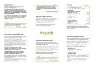 Beskrivelse af organisatoriske forhold - CPOP