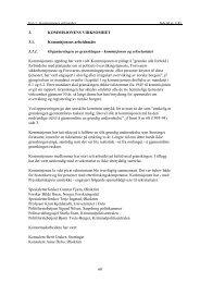 Kapittel 3 - Kommisjonens virksomhet - Stortinget