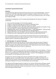 Landsledelsens organisatoriske beretning - SF