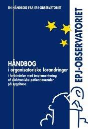 håndbog i organisatoriske forandringer - EPJ-Observatoriet