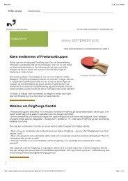 24. september 2012 - FreelanceGruppen