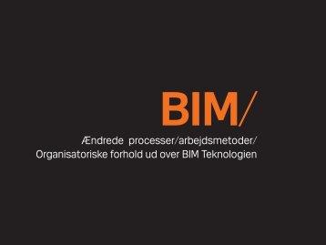 Ændrede processer/arbejdsmetoder/ Organisatoriske forhold ud ...