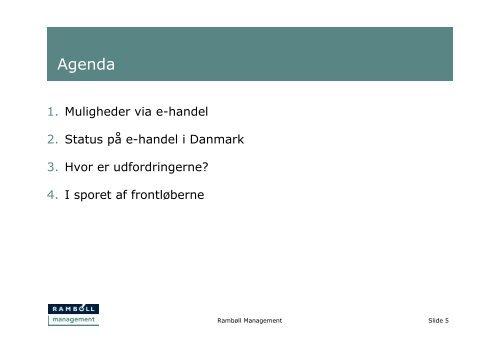 E-handel, Status og udfordringer? - Det Digitale Nordjylland