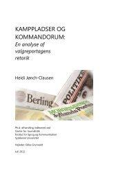 HJC_PHD_Kamppladser og kommandorum - Kommunikationsforum