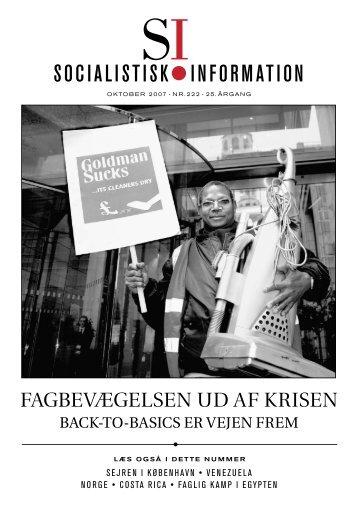SI nr. 222 - Socialistisk Information