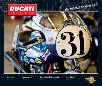 Har du betalt dit kontingent? - Ducati Klub Danmark