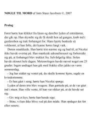 NØGLE TIL MORD af Jørn Staus Jacobsen ©, 2007 Prolog ... - Hjem