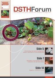 Side 5 Side 7 Side 14 - Dansk Selskab for Trombose og Hæmostase