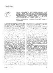 Anmeldelse Nils Møller Andersen - Dansk Geologisk Forening