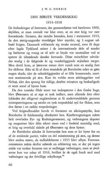 Bornholms værns historie - 6. del - Bornholms Historiske Samfund