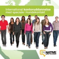 International kontoruddannelse med speciale i ... - 24Native
