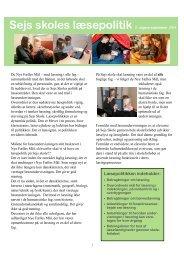 Sejs skole læsepolitik 2011