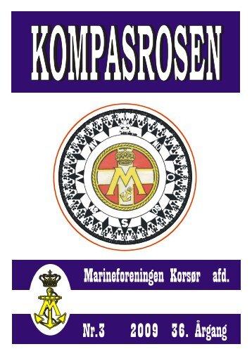 Nr.3 2009 36. Årgang Marineforeningen Korsør afd.