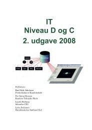 IT Niveau D og C 2. udgave 2008