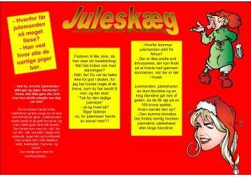 Juleskæg 5 Julevitser og DIT barndomsbillede til DIN borddame ved ...