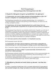 vores egne, mere detaljerede, etiske retningslinjer