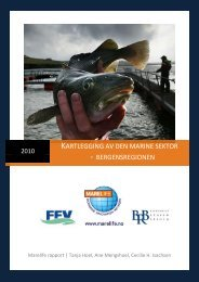 Kartlegging av den marine sektor - Fiskeriforum Vest