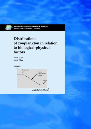 Distributions of zooplankton in relation to biological-physical factors