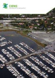 Helhetlig planlegging og utvikling av miljøvennlige ... - ciens