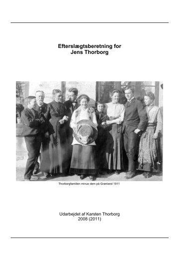 Efterslægt Jens Thorborg - Thorborg - Liisberg Hjemmeside - mono ...