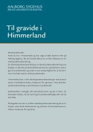 Til gravide i Østhimmerland - Aalborg Universitetshospital