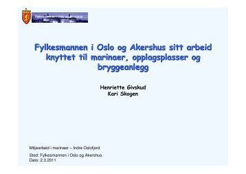 Fylkesmannen i Oslo og Akershus sitt arbeid knyttet til ... - Pura