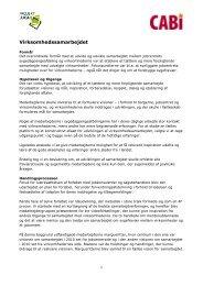 Læs mere om virksomhedssamarbejdet - Cabi