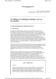 2 Utvikling av en helhetlig forvaltning av kyst- og havområdene