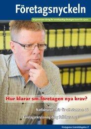 Hur klarar sm-företagen nya krav? - 4Web.fi