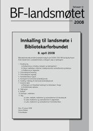 Delegater - Bibliotekarforbundet