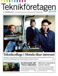 Teknikföretagen Direkt nr 7 2007