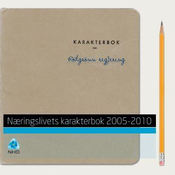 Last ned Næringslivets karakterbok 2005-2010(1).pdf - NHO