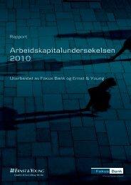 Arbeidskapitalundersøkelsen 2010 - Danske Bank