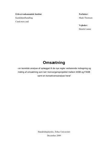 Omsætning - PURE