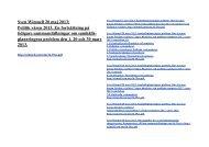 Sven Wimnell 20 maj 2013 - Sven Wimnells hemsida