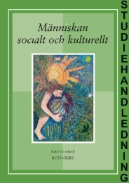 Studiehandledning Människan socialt och kulturellt - Sanoma ...