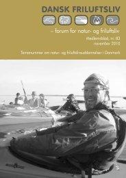 Temanummer om natur og friluftslivsuddannelser i ... - Dansk friluftsliv