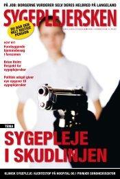 Sygeplejersken 2009 Nr. 21 - Dansk Sygeplejeråd