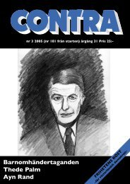 Nummer 3 2005 - Contra