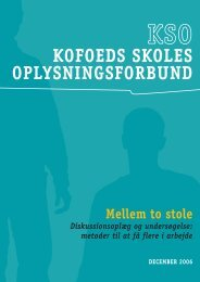 KOFOEDS SKOLES OPLYSNINGSFORBUND
