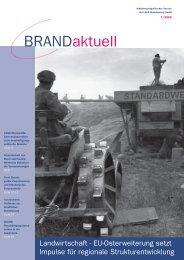 BRANDaktuell - LASA Brandenburg GmbH