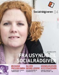 Socialrådgiveren nr. 4-2012 - Dansk Socialrådgiverforening